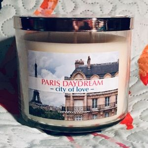 NEW 3-Wick Bath & Body Works Candle Paris Daydream